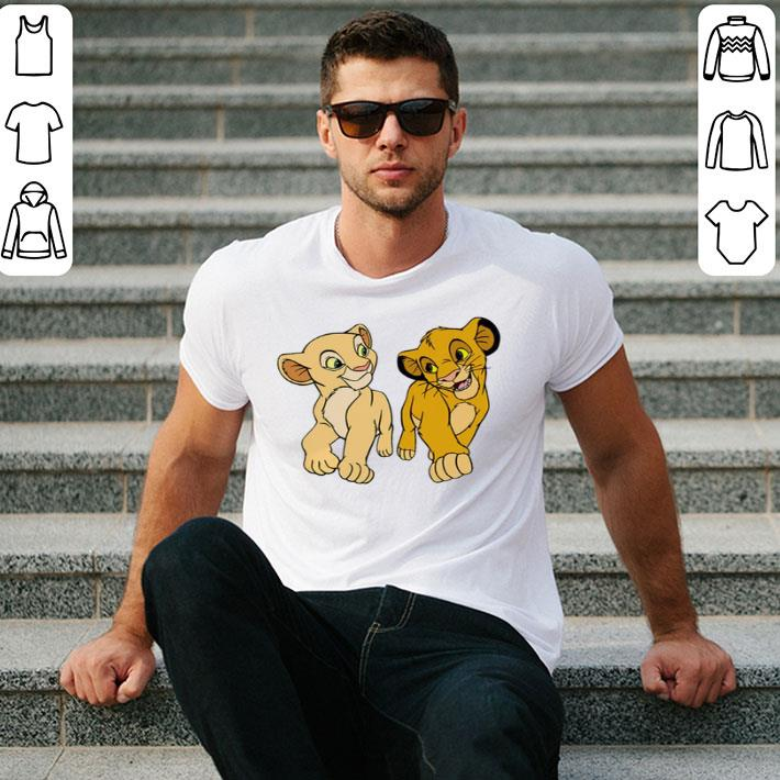 Simba and Nala Disney shirt