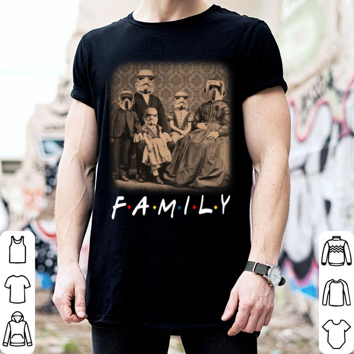 Stormtrooper Family Friends shirt