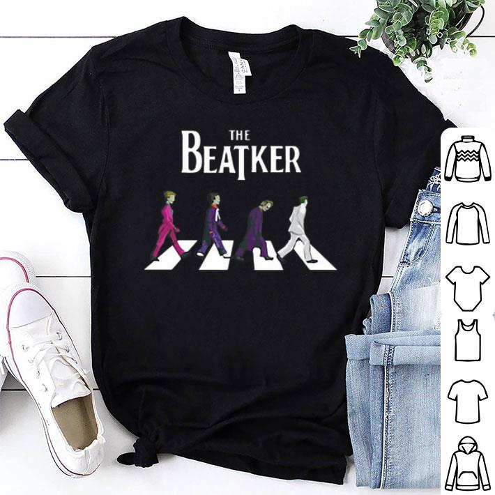 - The Beatker Joker Abbey Road parody The Beatles shirt