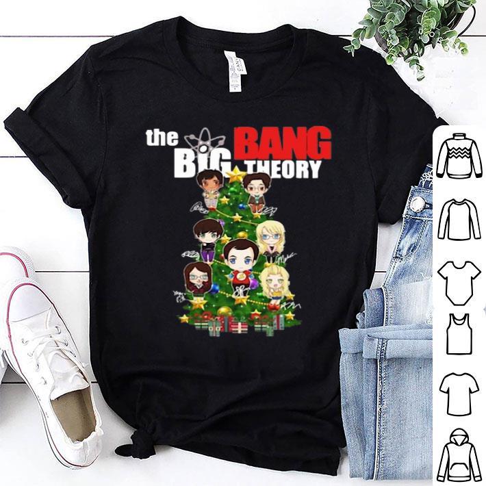 - The Big Bang Theory Christmas Tree shirt