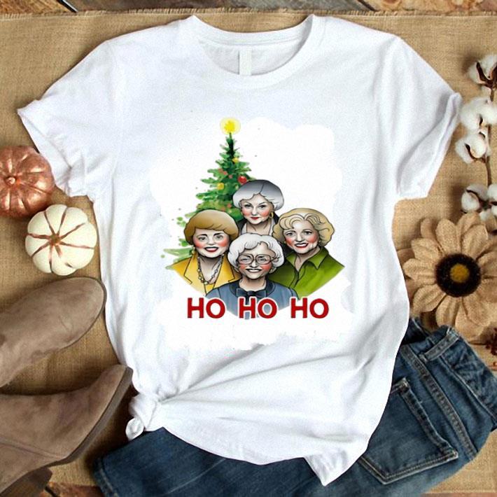- The Golden Girl Ho Ho Ho Christmas Tree shirt