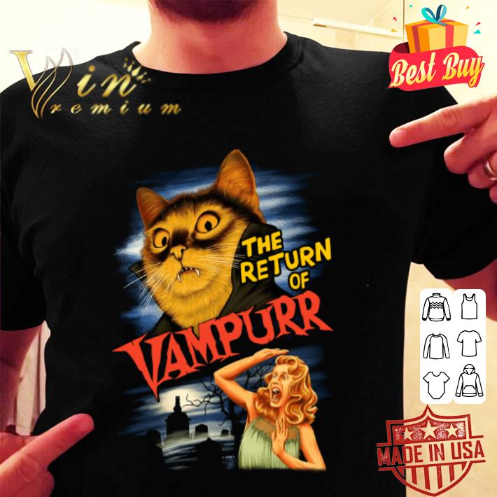 - The Return Of Vampurr Cat Vampire shirt