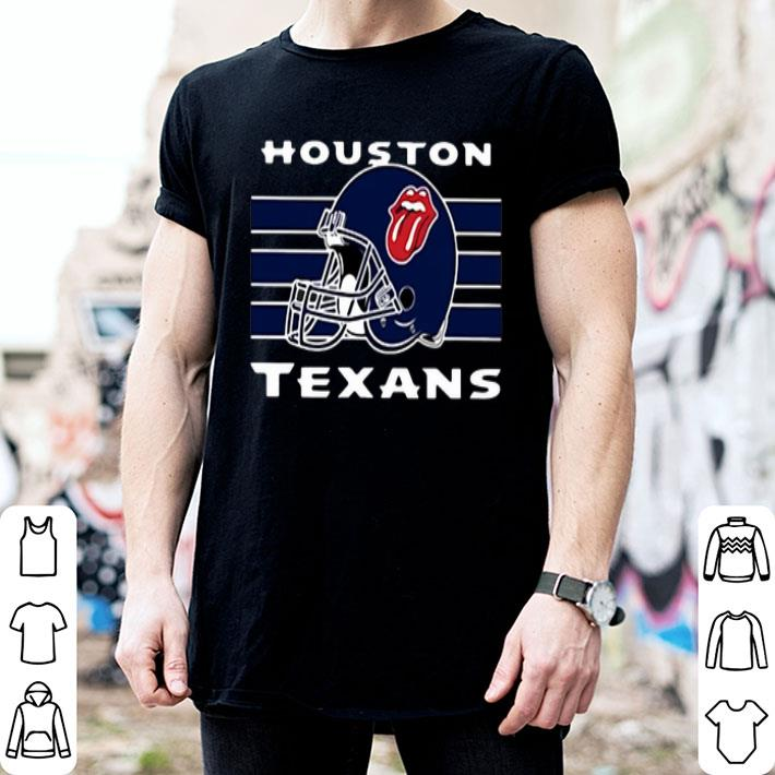 The Rolling Stones Houston Texans shirt