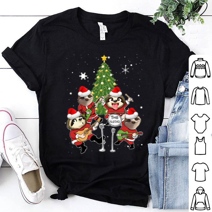 The Sloths The Beatles parody Christmas shirt