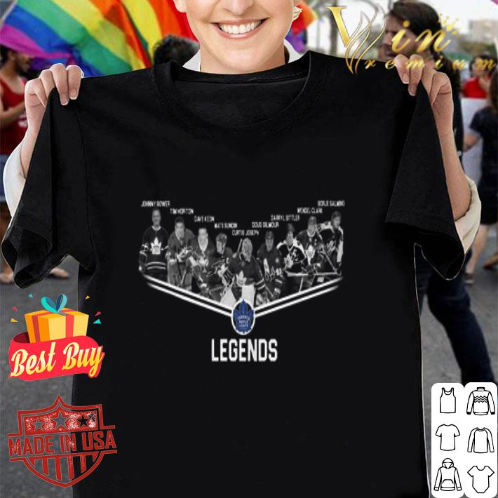 - Toronto Maple Leafs legends shirt