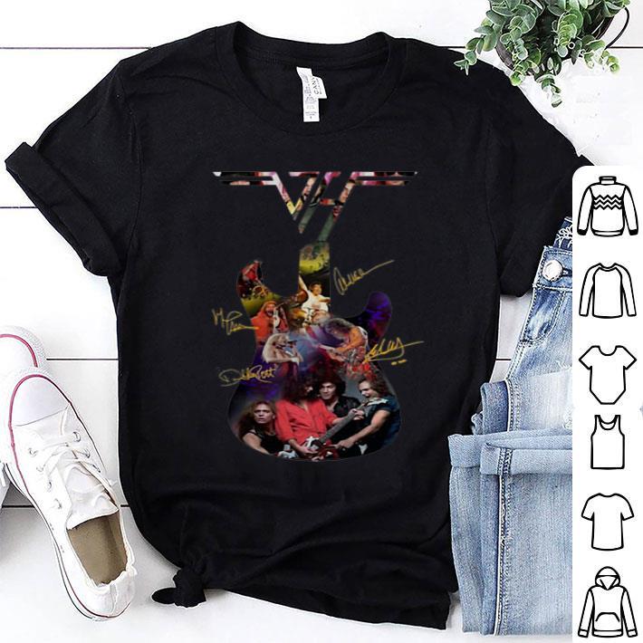 - Van Halen Guitar Signatures shirt