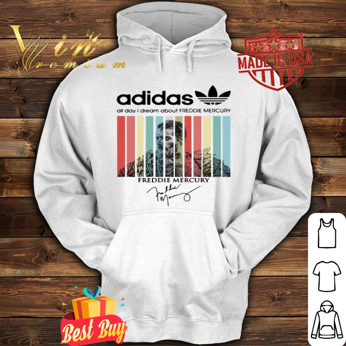 - adidas all day i dream about Freddie Mercury signatures vintage shirt