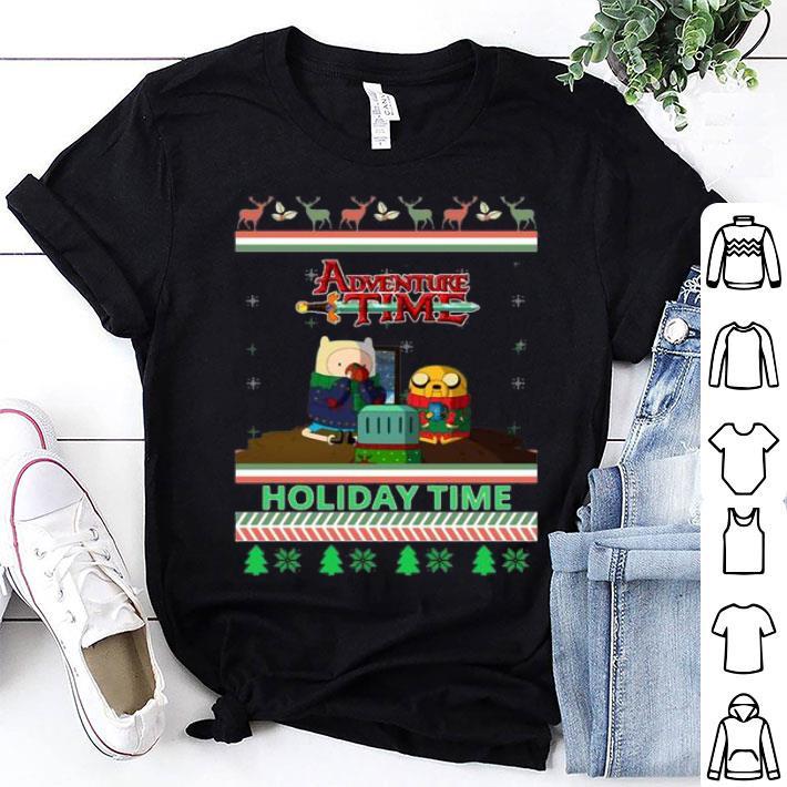 - Adventure Time Holiday Time Ugly Christmas shirt