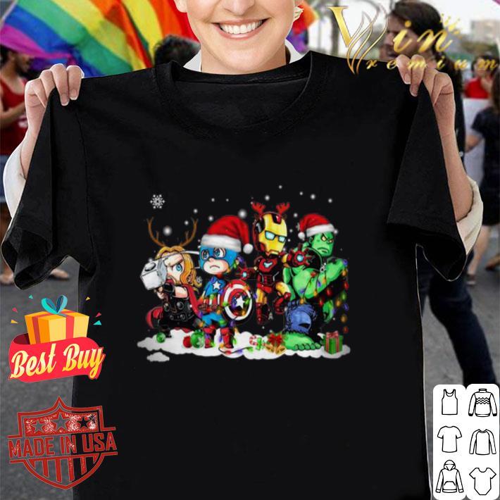 - Avengers Chibi Christmas shirt