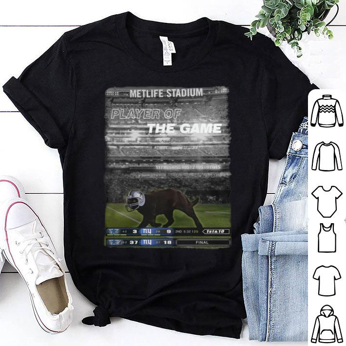 - Black cat Metlife stadium player of the game Dallas Cowboys shirt