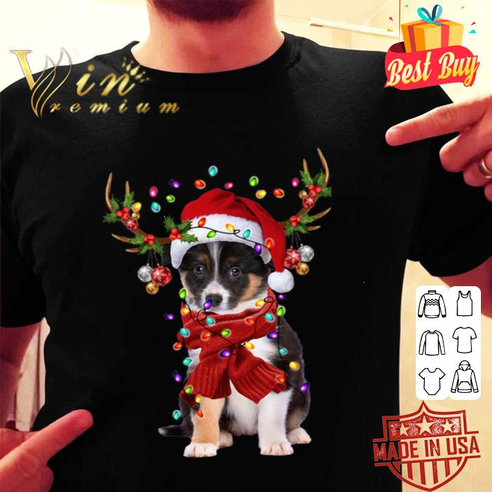 - Border Collie Reindeer Christmas shirt