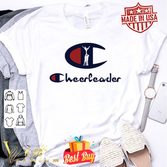 Champion Logo Cheerleader shirt