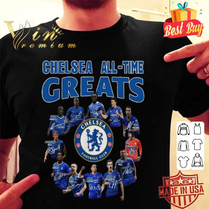 - Chelsea All-Time Greats Player Signatures shirt