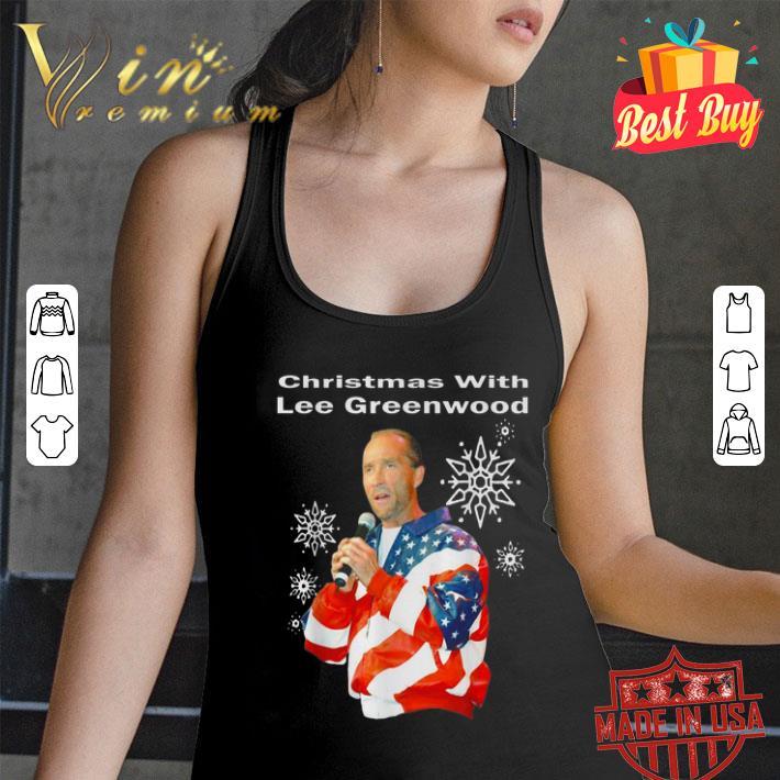 Christmas with Lee Greenwood American flag shirt