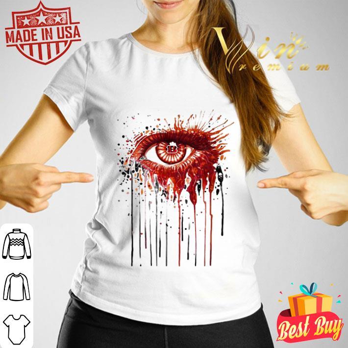 Cincinnati Bengals eyes art shirt