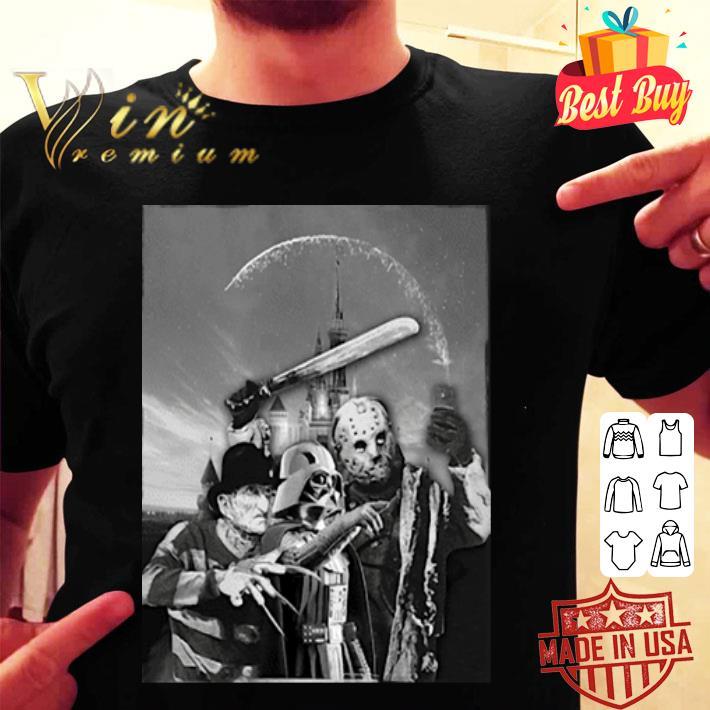 - Darth Vader Freddy Krueger Jason Voorhees selfie shirt