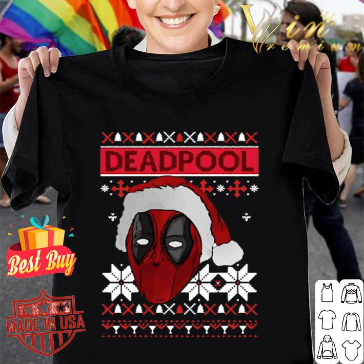 - Deadpool Santa Hat Ugly Christmas shirt