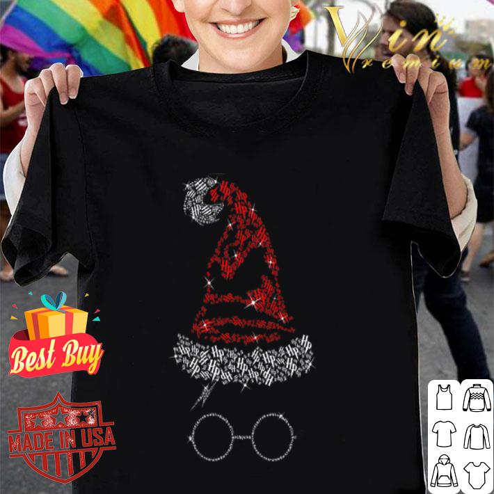 - Diamond Halloween hat Harry Potter shirt