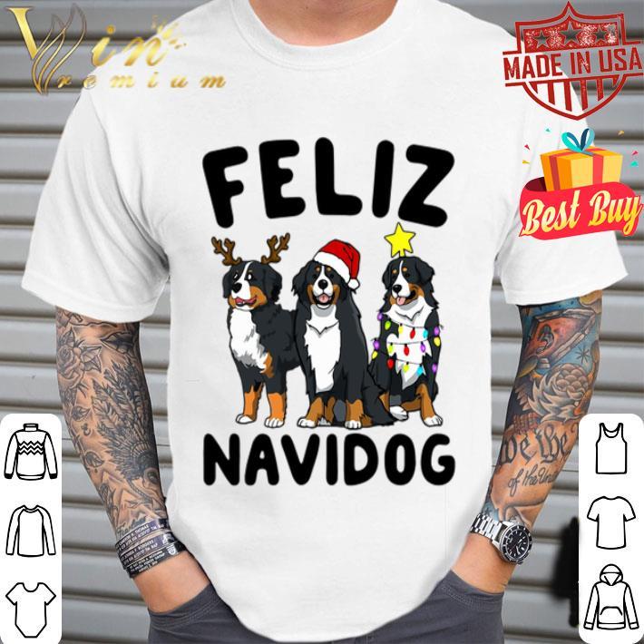 Feliz Navidog Bernese Mountain Dog Christmas shirt