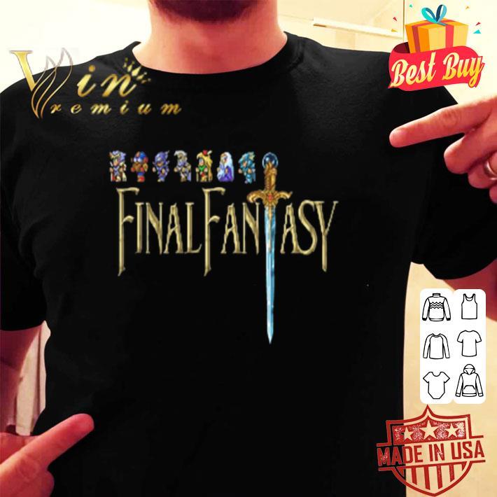 - Final Fantasy Ugly Christmas shirt