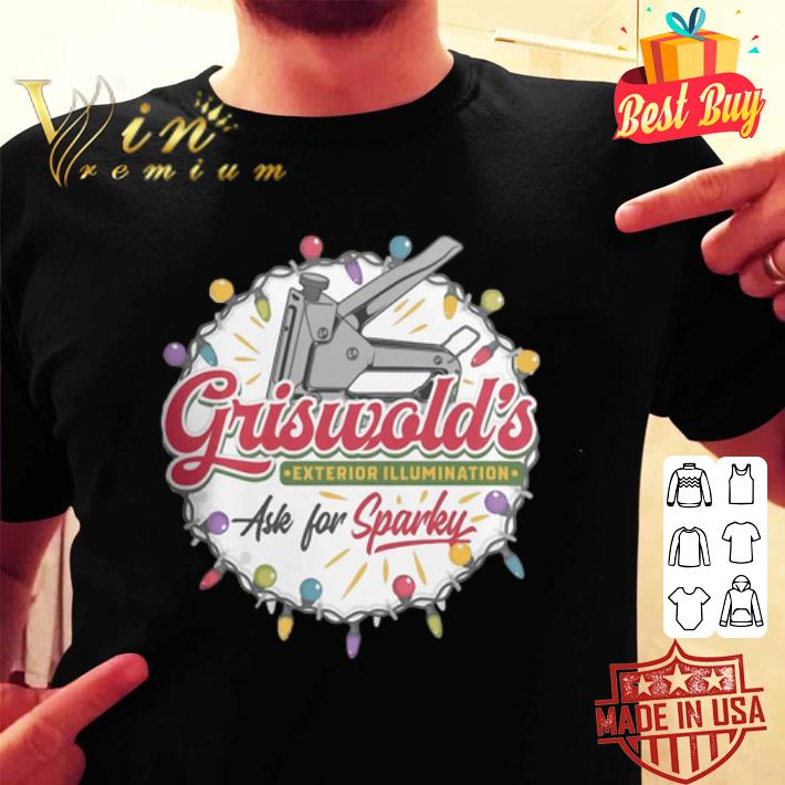 - Griswold's Exterior Illumination ask for Sparke Christmas shirt