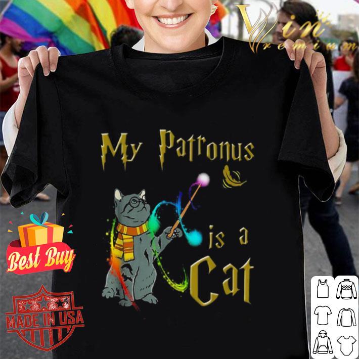 Harry Potter my Patronus is a cat shirt