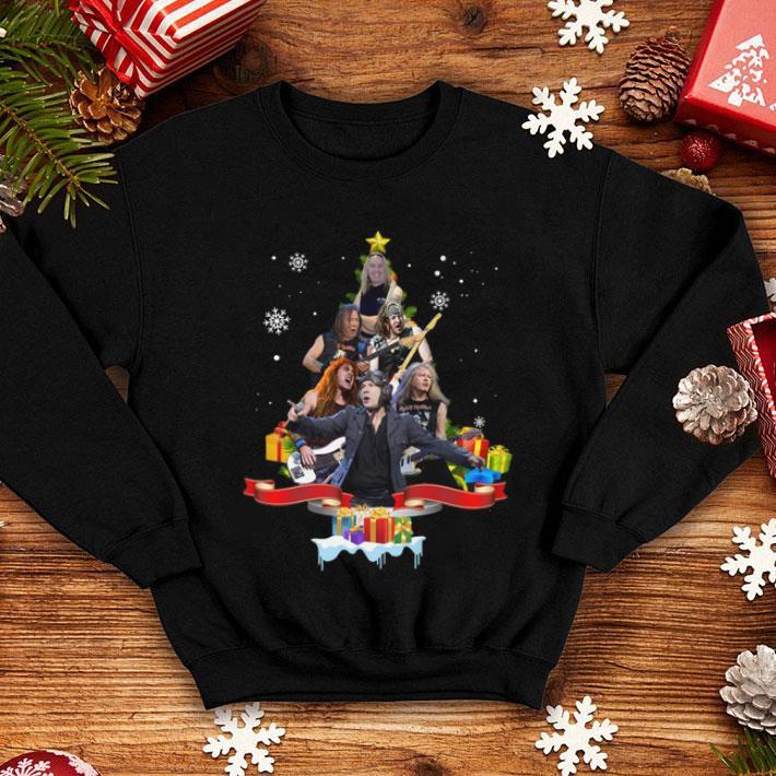 Iron Maiden Bruce Dickinson Christmas tree shirt