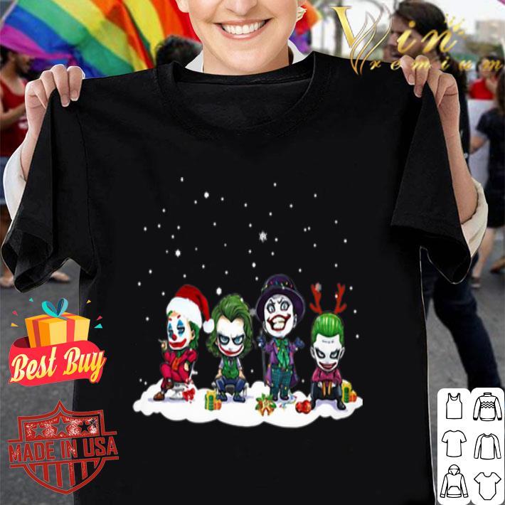 Joker chibi characters Christmas shirt