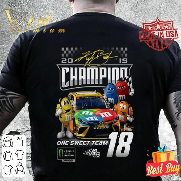 M&M's Kyle Busch Joe Gibbs Racing Team Monster Energy Champion shirt