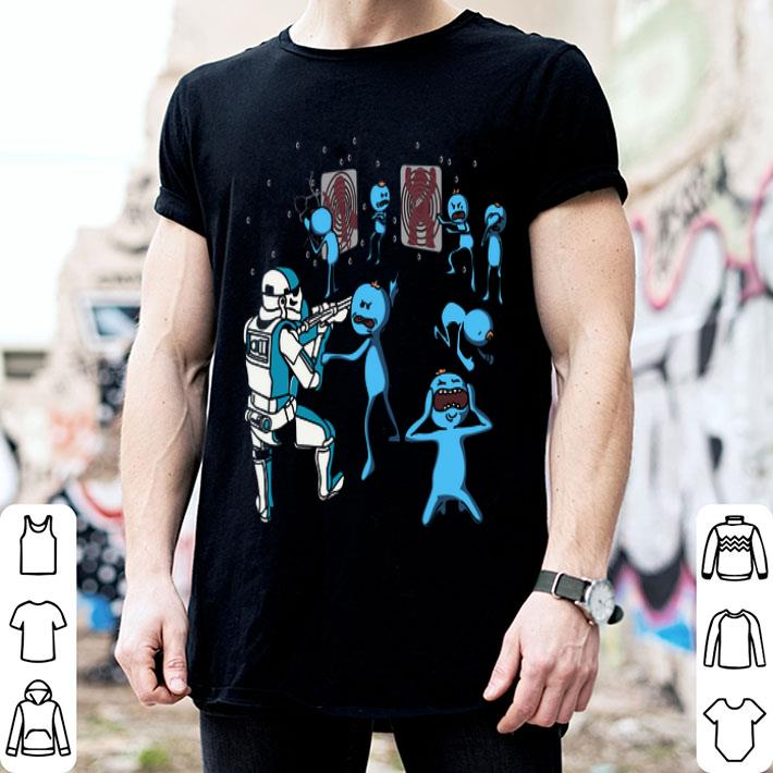 - Meeseeks and Destroy Star Wars shirt