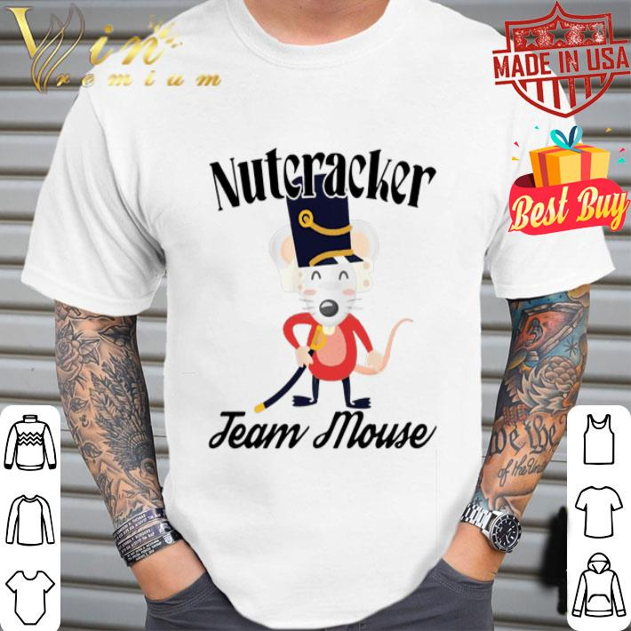 - Nutcracker Soldier Toy Christmas Team Mouse shirt