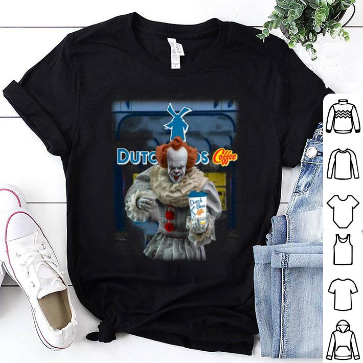 Pennywise drink Dutch Bros Coffee shirt