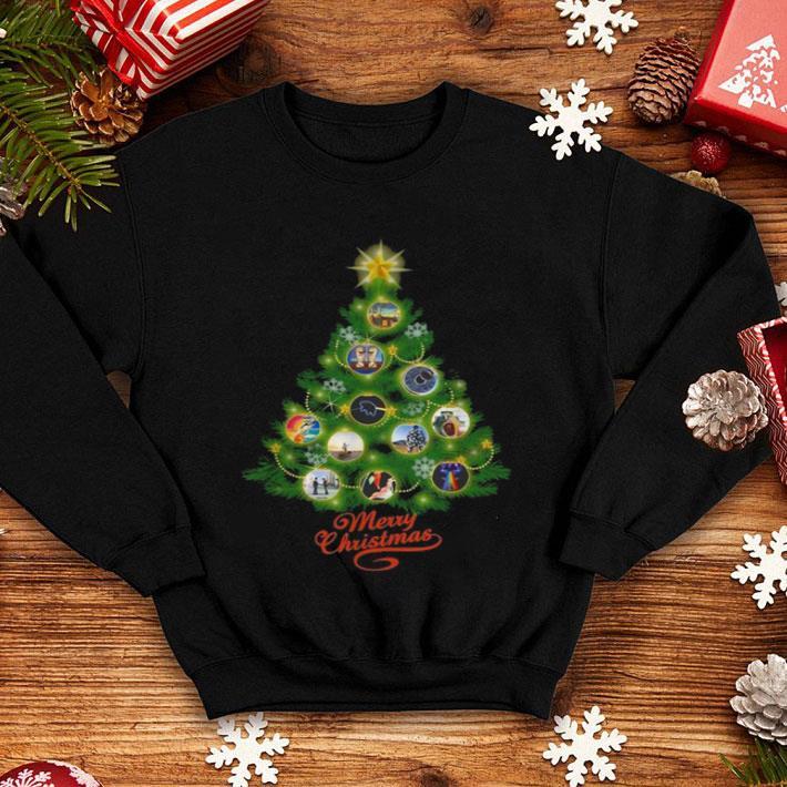 Pink Floyd Merry Christmas tree shirt