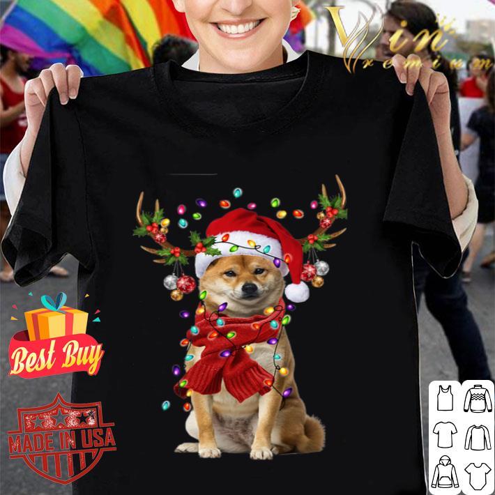 Shiba Inu Reindeer Christmas shirt