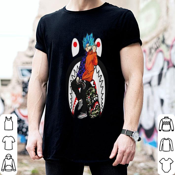 Son Goku Bape Yeezy shirt