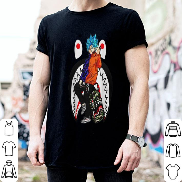 - Son Goku Bape Yeezy shirt