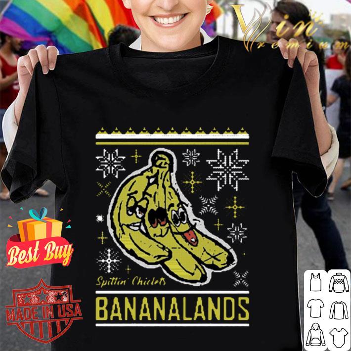 - Spittin Chiclets Bananalands Ugly Christmas shirt