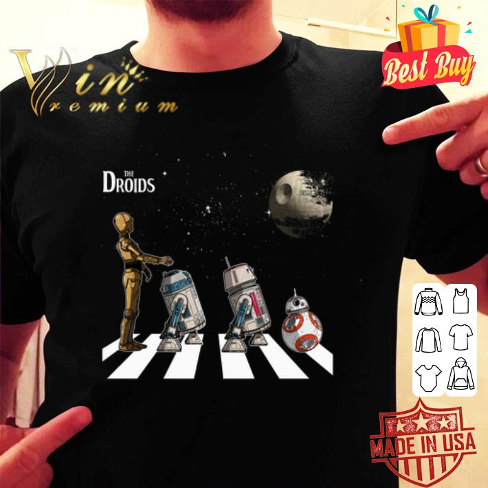 - Star Wars The Droids Abbey Road shirt