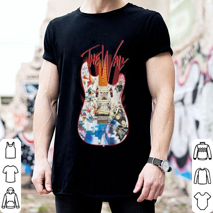The Wall guitarist signature shirt