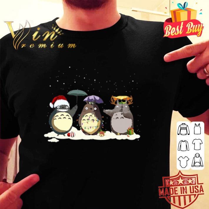 - Tonari no Totoro Christmas shirt