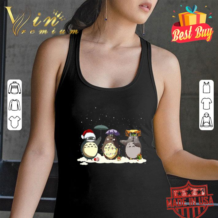 Tonari no Totoro Christmas shirt