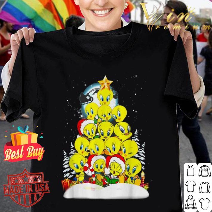 Tweety Santa Christmas tree shirt