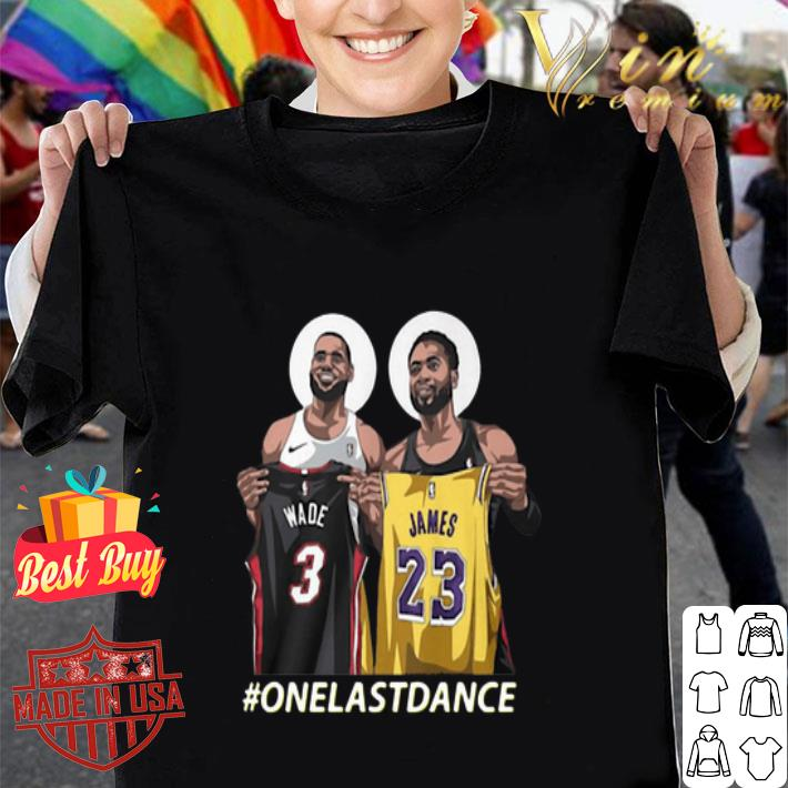 - Wade and James One Last Dance shirt