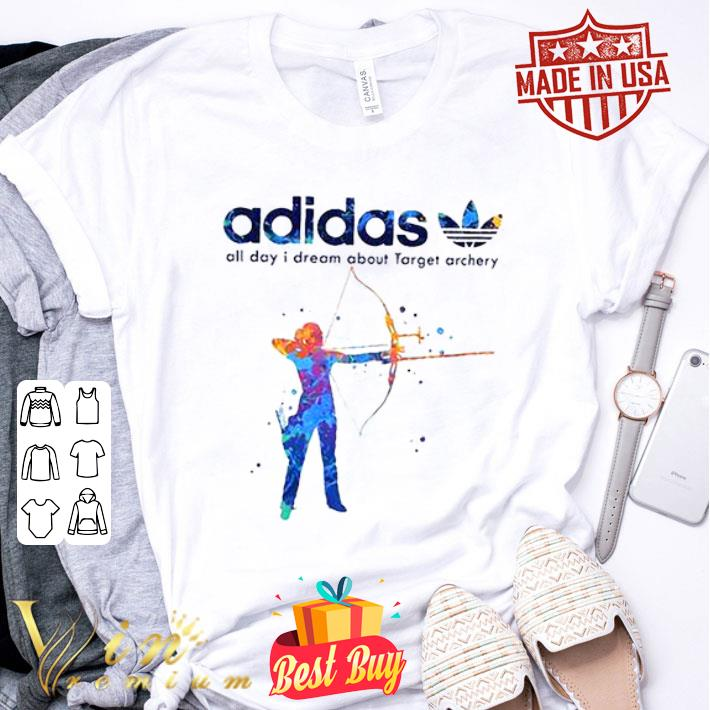 - adidas all day i dream about Target archery shirt