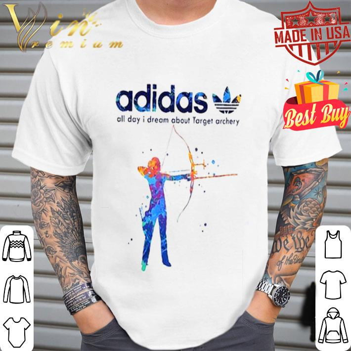adidas all day i dream about Target archery shirt