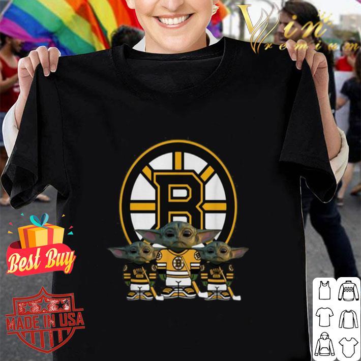- Baby Yoda Boston Bruins shirt
