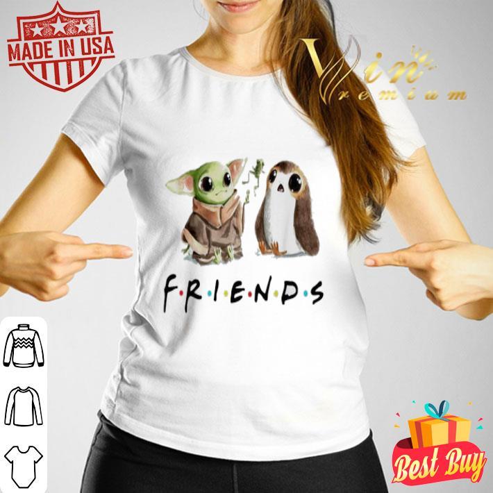 Baby Yoda and Porg Friends shirt