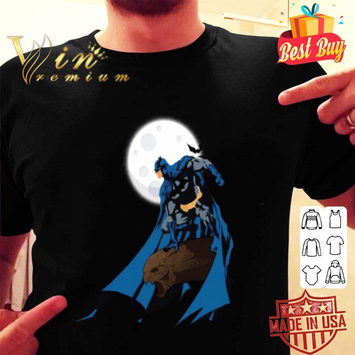 Batman and moon The Dark Knight shirt