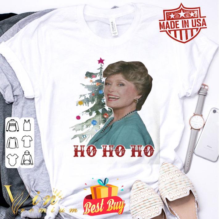 - Blanche Devereaux ho ho ho Christmas Golden Girl shirt