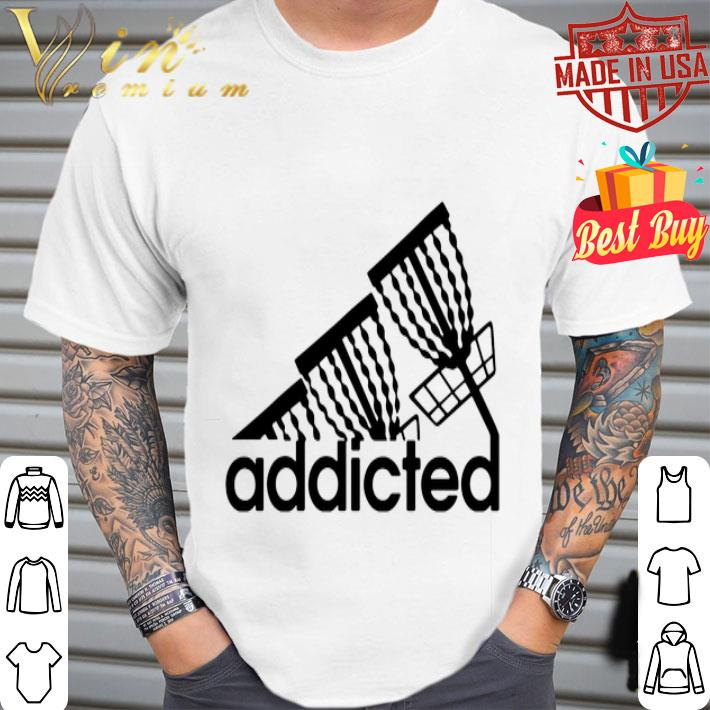- Disc Golf addicted adidas shirt